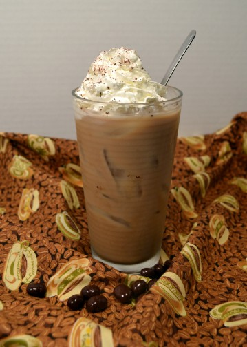 Iced Coffee with Whip