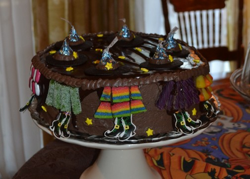 Witches 2013 dessert abby's witch cake