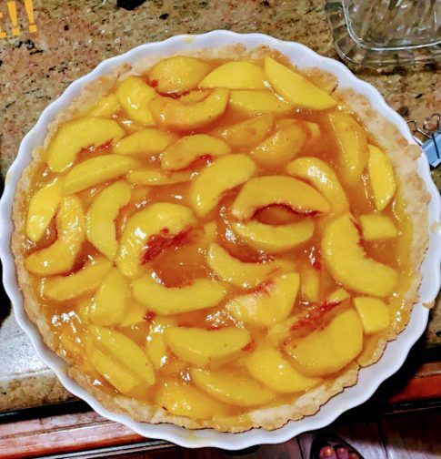 In The Kitchen With Polly Blog Archive Fresh Peach Pie